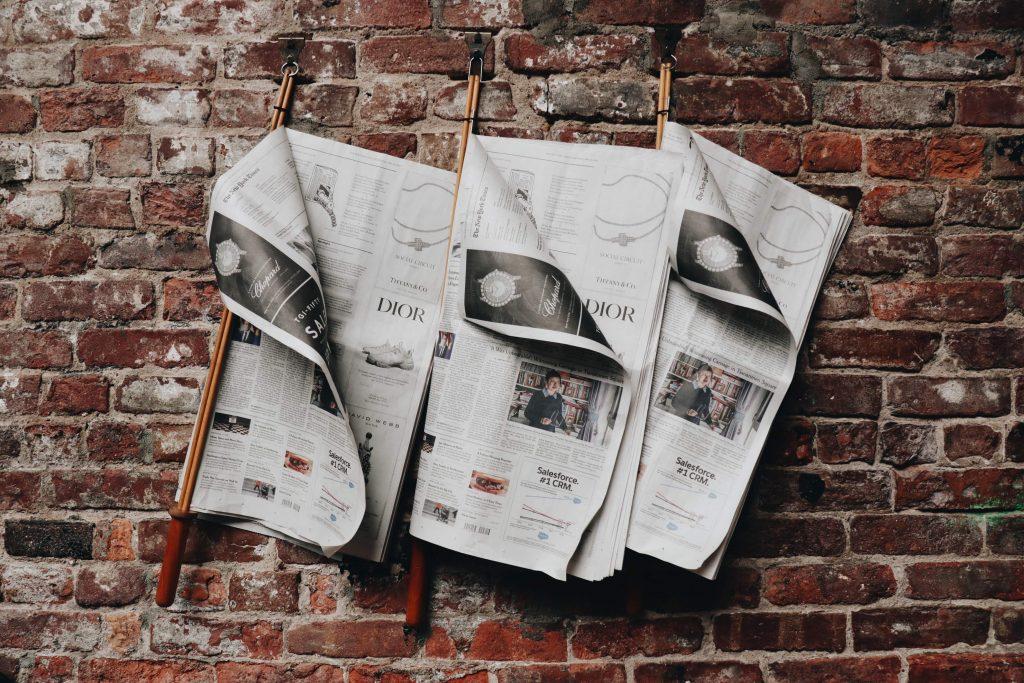 Vacature in nieuwstitels