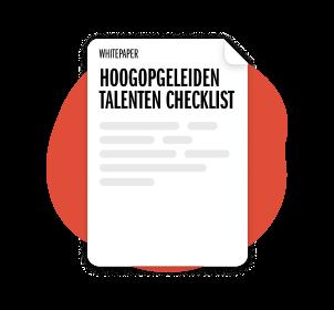 De Hoogopgeleiden Talenten Checklist
